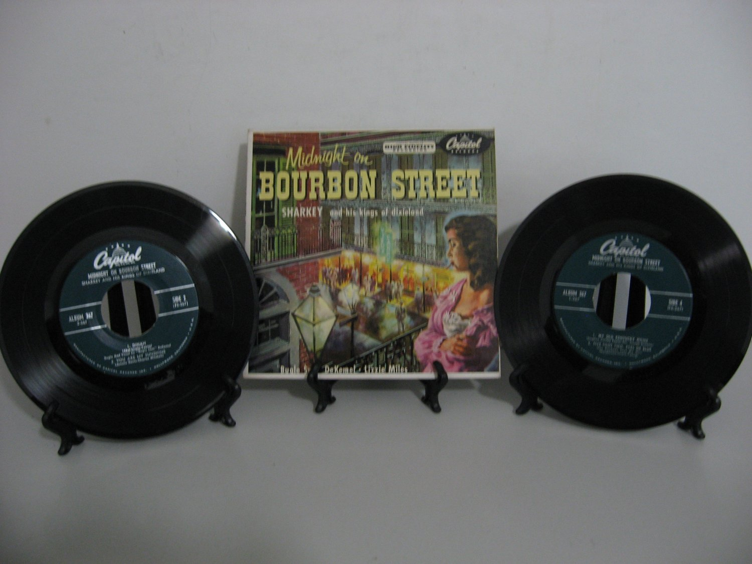 Sharkey and his kings of Dixieland - Midnight On Bourbon Street - Double Record Set!