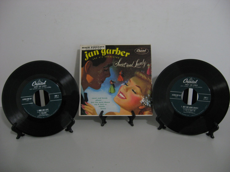 Rare Vinyl! - Jan Garber - Sweet and Lovely - Double Record Set! - Circa 1954