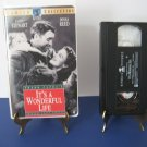 James Stewart - Donna Reed - It's A Wonderful Life - VHS Tape