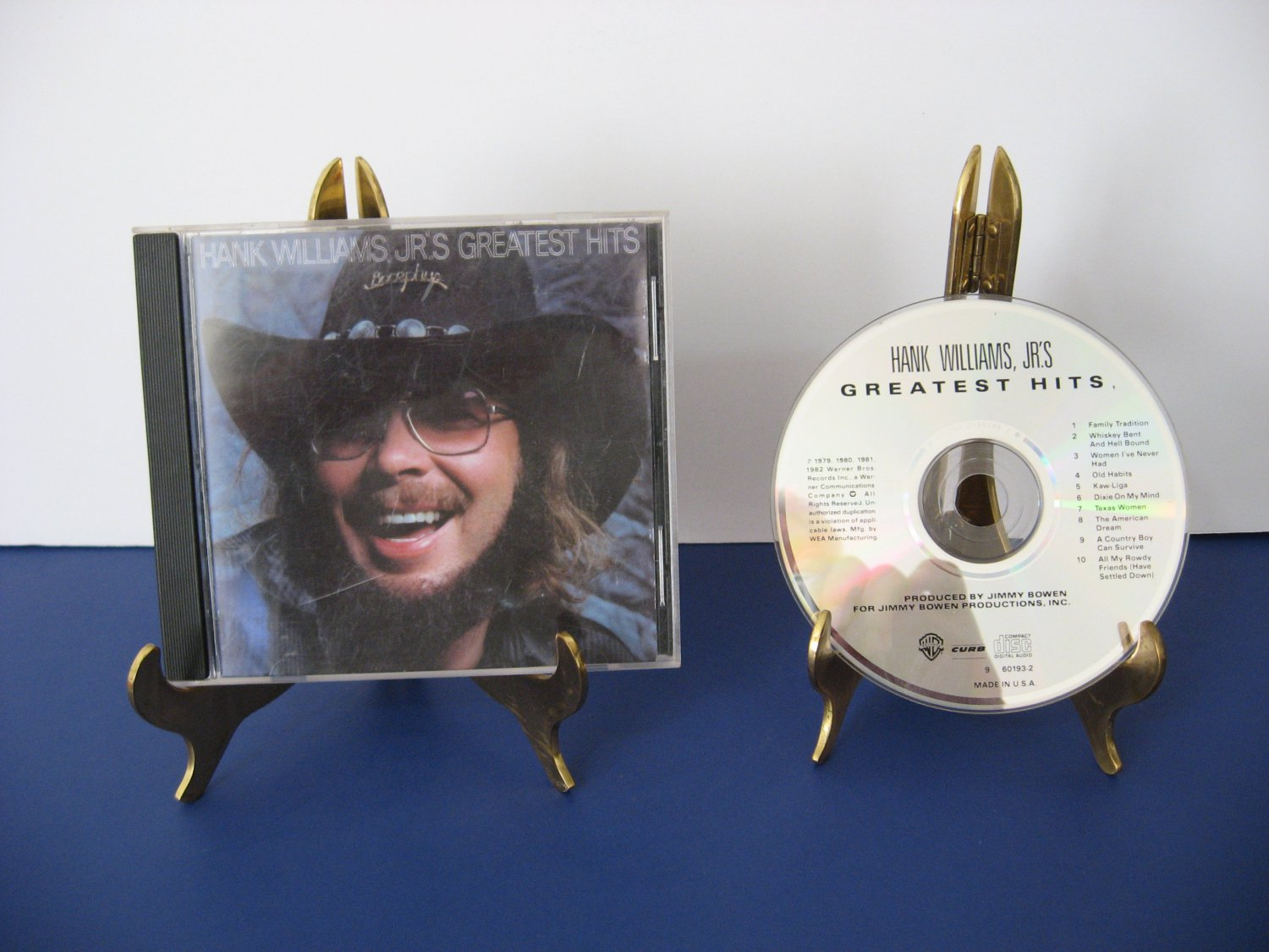 Hank Williams Jr. - Greatest Hits - Compact Disc