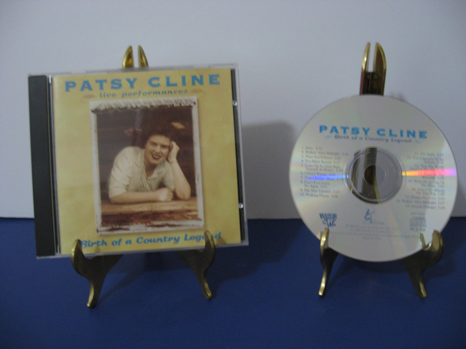 Patsy Cline - Live Performances - Birth Of A Country Legend - Compact Disc