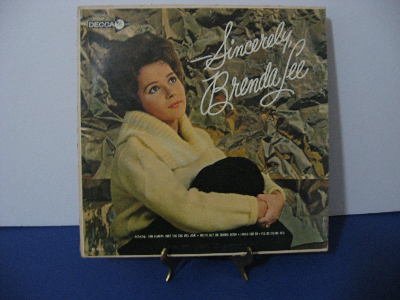 Brenda Lee - Sincerely - Circa 1962