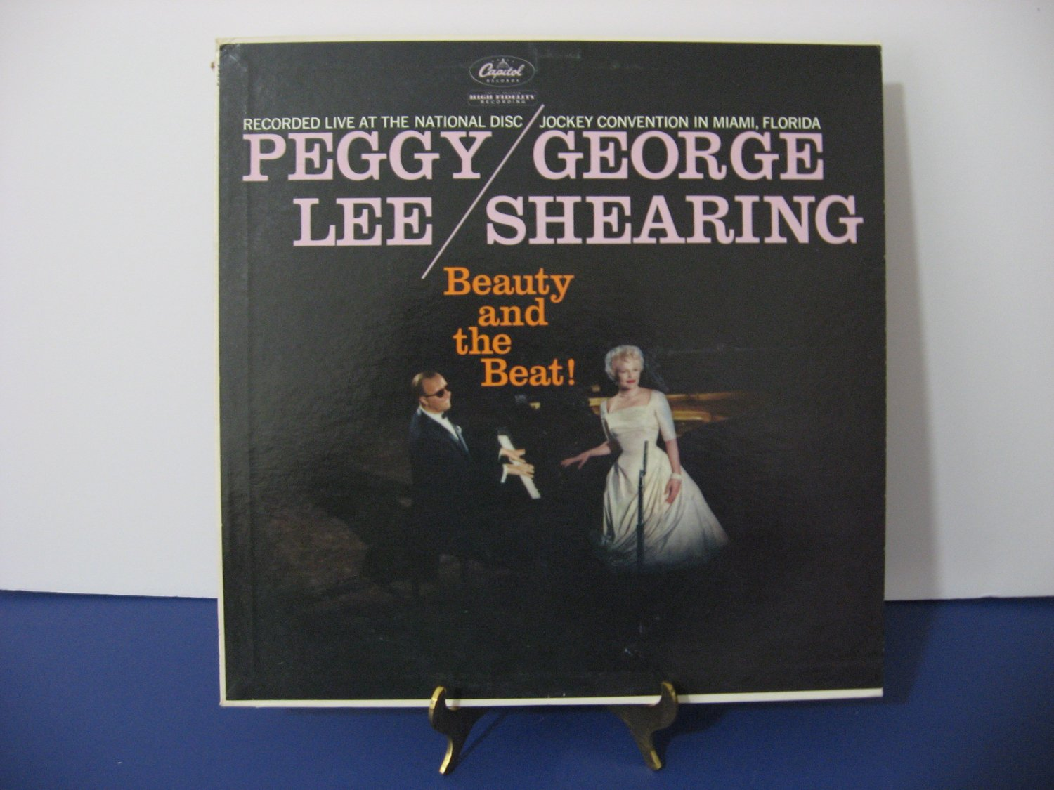 Peggy Lee & George Shearing - Beauty And The Beat - Circa 1959