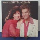 Loretta Lynn & Conway Twitty - The Very Best Of Loretta & Conway - Circa 1979