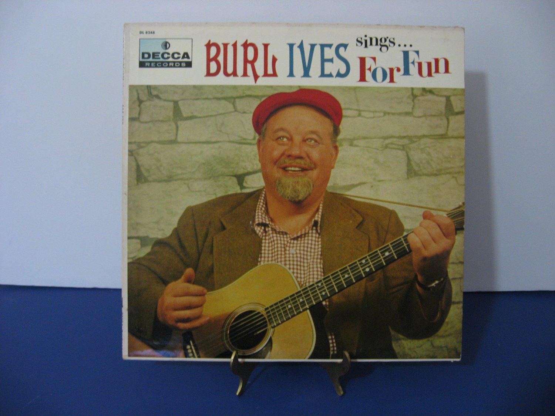 Burl Ives - Sings For Fun - Circa 1956