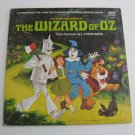 Walt Disney - The Wizard Of Oz - Includes a Full Color Illustrated 11 Page Book - Circa 1969