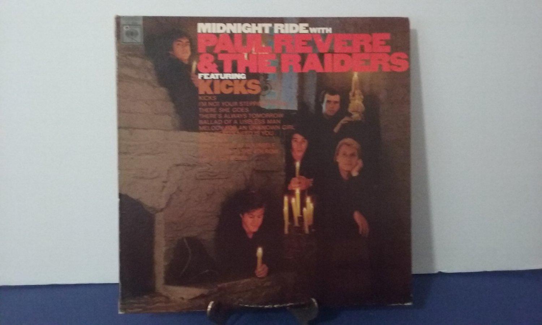 Paul Revere & The Raiders  -  Midnight Ride - Circa 1966