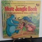 Walt Disney - More Jungle Book - Plus a Full Color Illustrated Book! - Circa 1969
