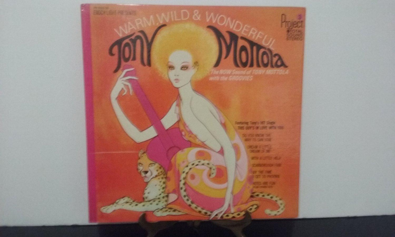 Tony Mottola - Warm, Wild & Wonderful - 1968  (Record)