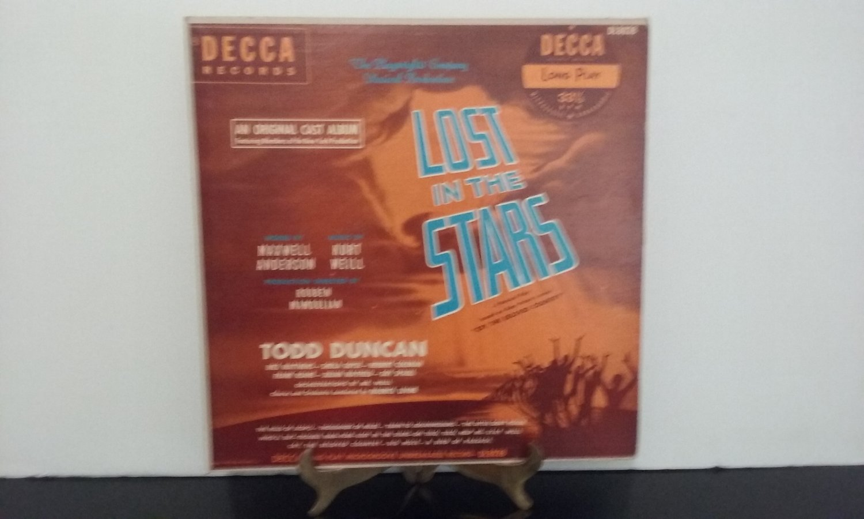 Rare! - Todd Duncan - Lost In The Stars - Original Cast Album - Circa 1949