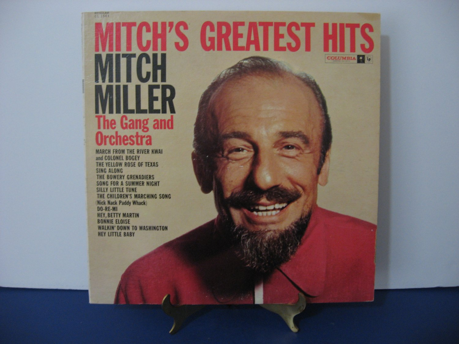 Mitch Miller The Gang And Orchestra - Greatest Hits  - Circa 1961