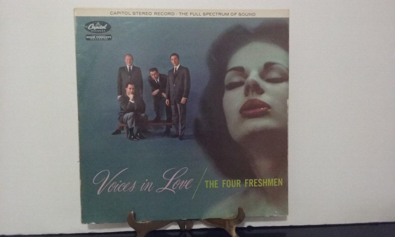 The Four Freshmen - Voices In Love - United Kingdom Pressing -  Circa 1958