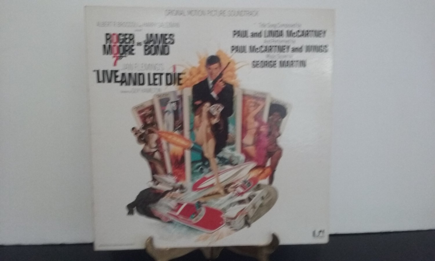 Paul McCartney & Wings - Live And Let Die - Motion Picture Sound Track - Circa 1973