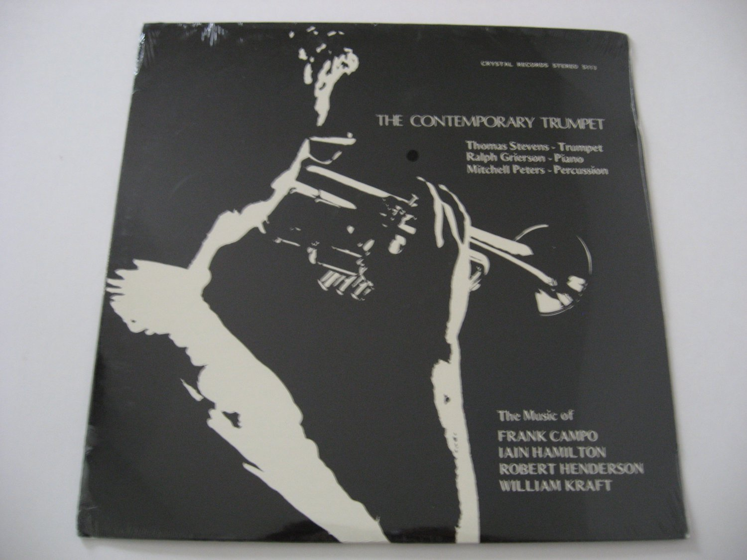 Limited Edition Rare! - Sealed! - Thomas Stevens - Ralph Grierson - The Contemporary Trumpet