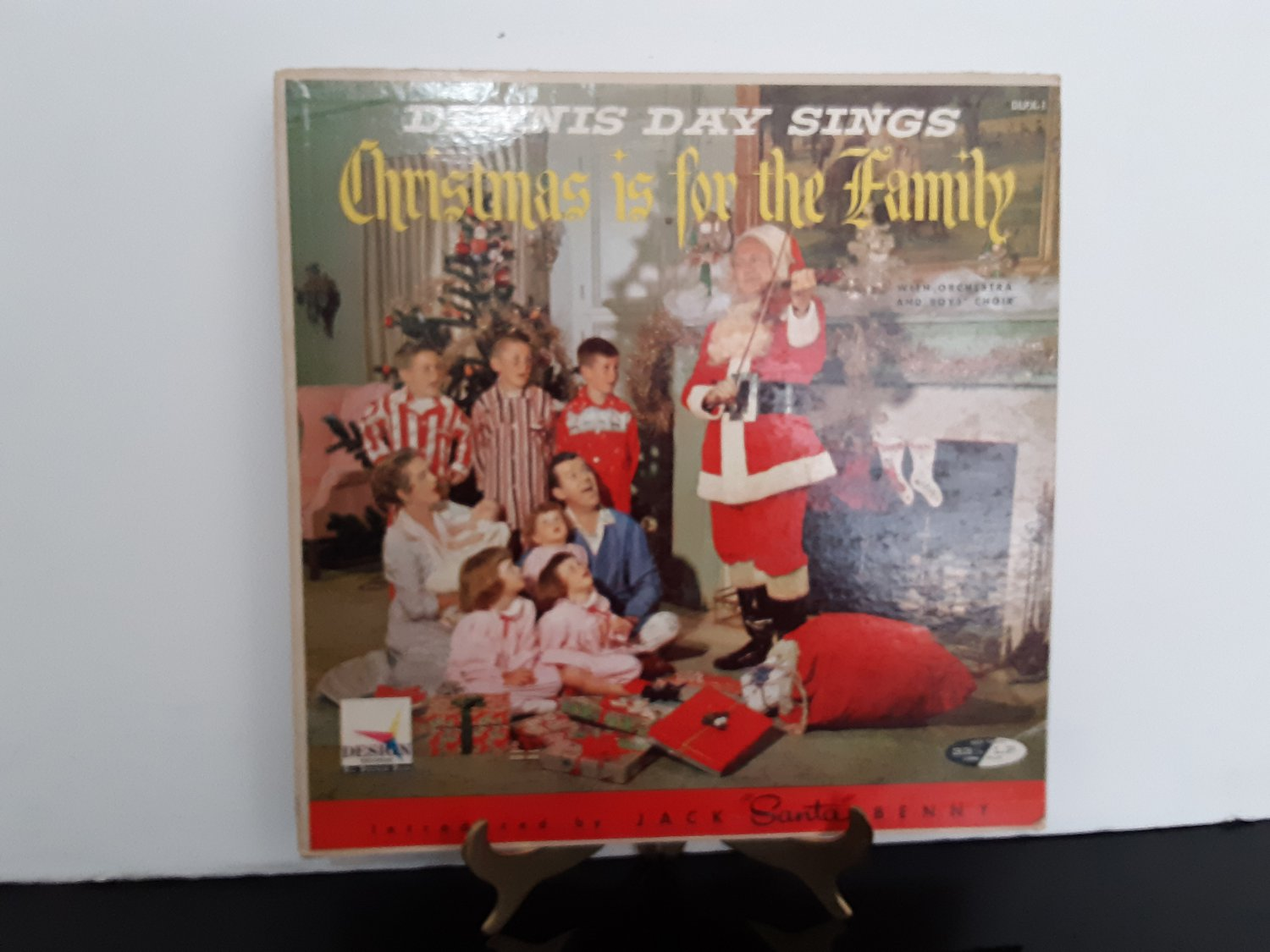 Dennis Day & Jack Benny - Christmas Is For The Family - Circa 1959