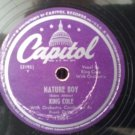 Rare! - Nat King Cole - Nature Boy / Lost April - Circa  1947 - 78RPM