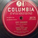 Doris Day & Buddy Clark - Love Somebody / Confess - 78rpm - Circa 1948