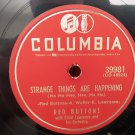 Red Buttons - Strange Things Are Happening/The Ho Ho Song - 78rpm - Circa 1953
