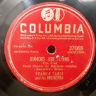 Frankie Carle And His Orchestra - Rumors Are Flying - Without You - 78rpm - Circa 1951