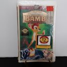 New Sealed - Walt Disney Masterpiece - Bambi - 55th Anniversary limited Edition - VHS
