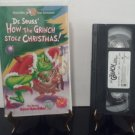 Dr. Seuss - How The Grinch Stole Christmas - Circa 1999 - VHS Tape