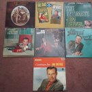 Jim Reeves Classic Collection of 7 Vinyl Albums! - Circa 1960
