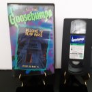 Goosebumps - Welcome To Dead House - VHS Tape