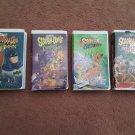 Scooby-Doo - Lot of 4 Tapes - Sccoby-Doo Meets Batman and others - VHS Tape
