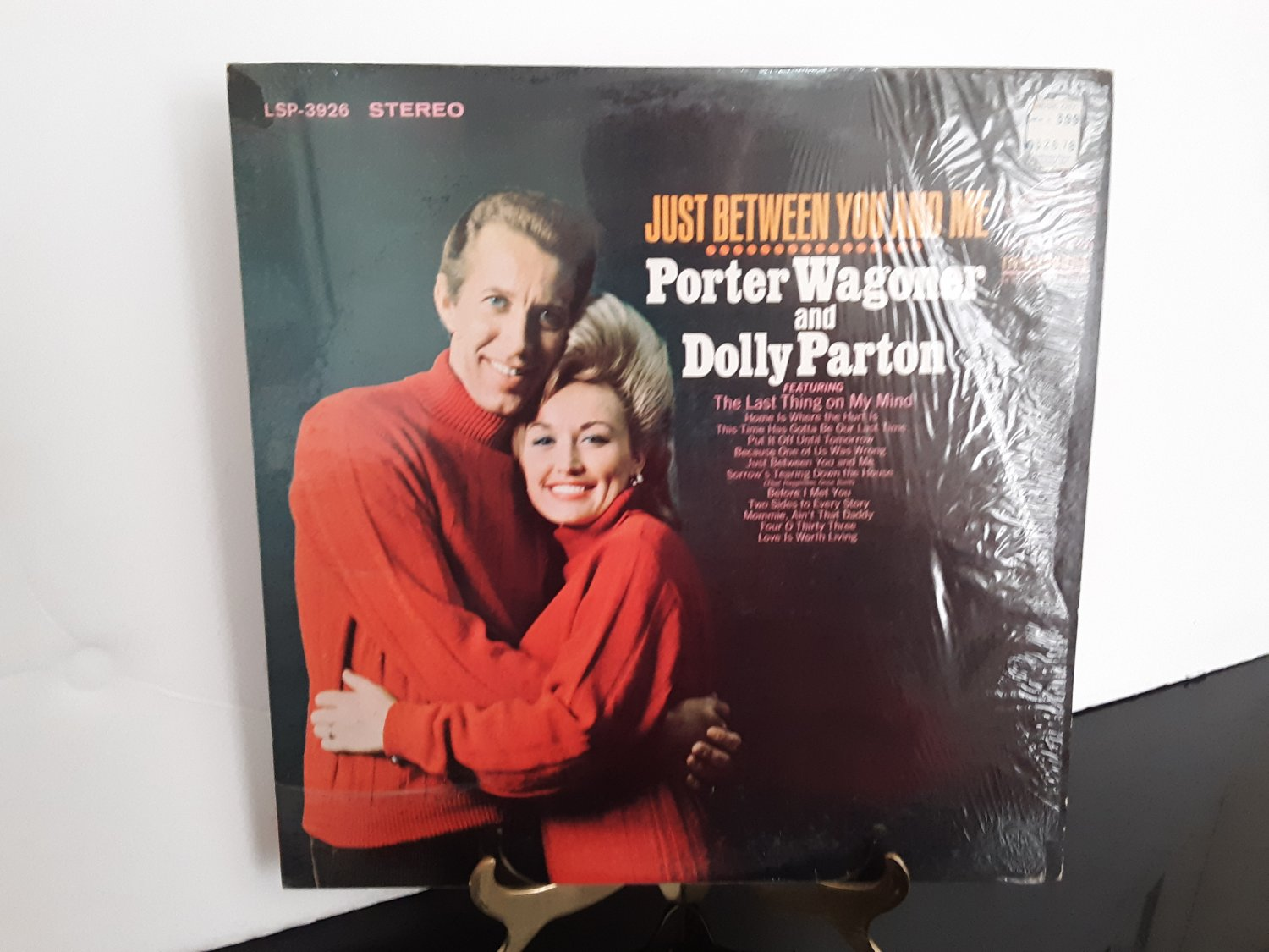 Dolly Parton & Porter Wagoner - Just Between You And Me - Circa 1968