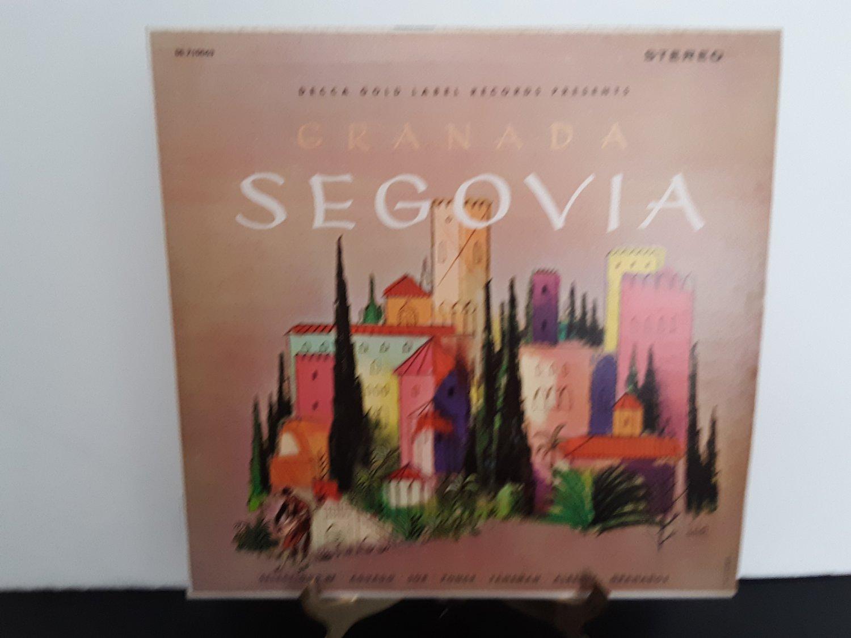 First Pressing - Andres Segovia - Granada - Circa 1963