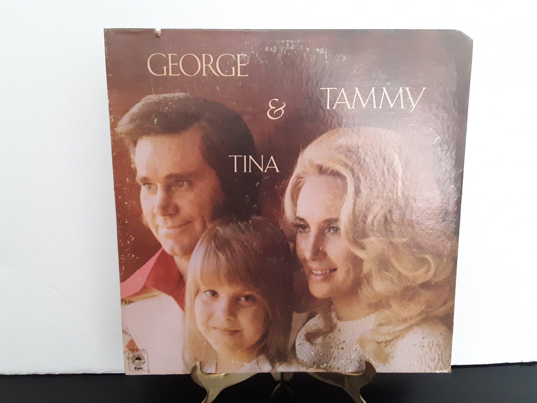 George Jones - Tammy Wynette & Tina - George - Tammy - Tina -   Circa 1975