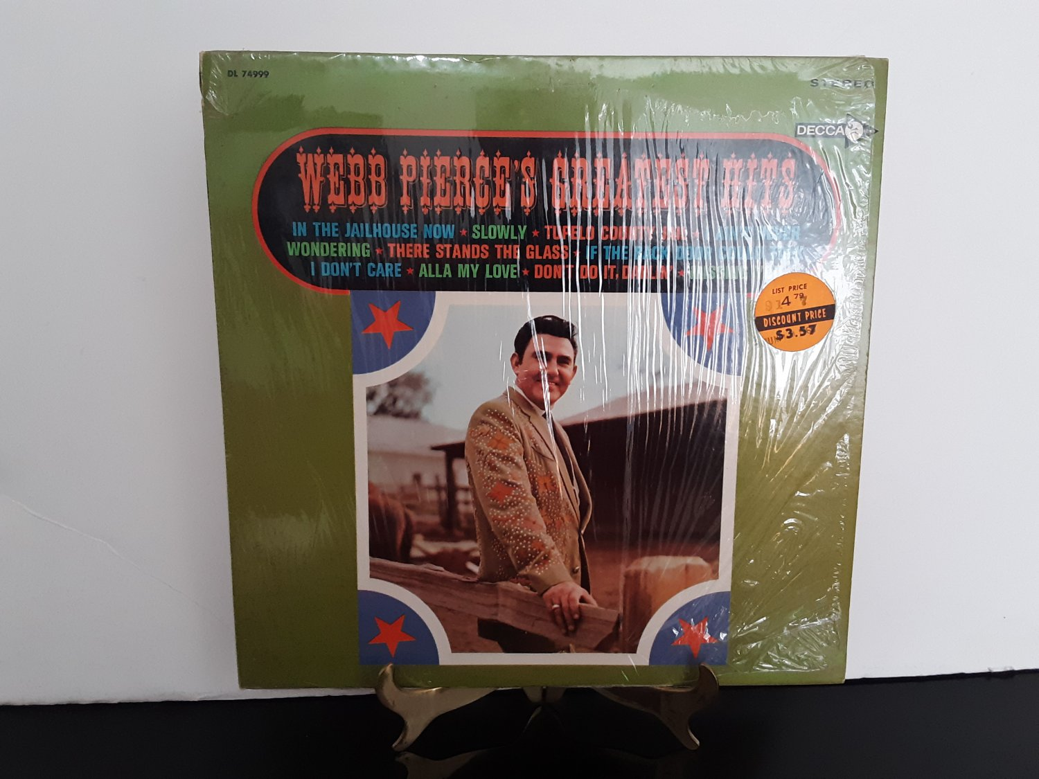 Webb Pierce - Greatest Hits - Circa 1968