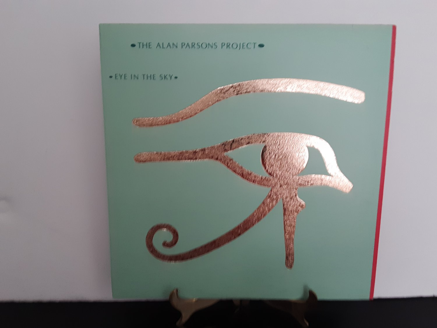 "The Alan Parsons Project - ""Embossed Gold Foil Cover"" - Eye In The Sky - Circa 1982"