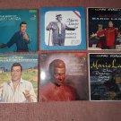 Mario Lanza -  Lot of 6 Mario Lanza Albums! Greatest Hits Album - Soundtrack albums Plus!