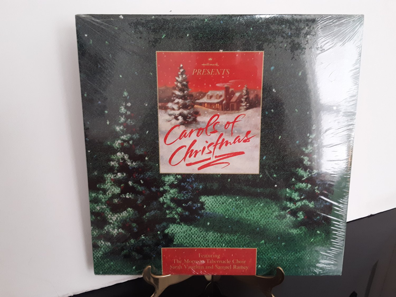 "NEW! - Hallmark - The Mormon Tabernacle Choir / Sarah Vaughan - ""Carols OF Christmas"" - Circa 1989"