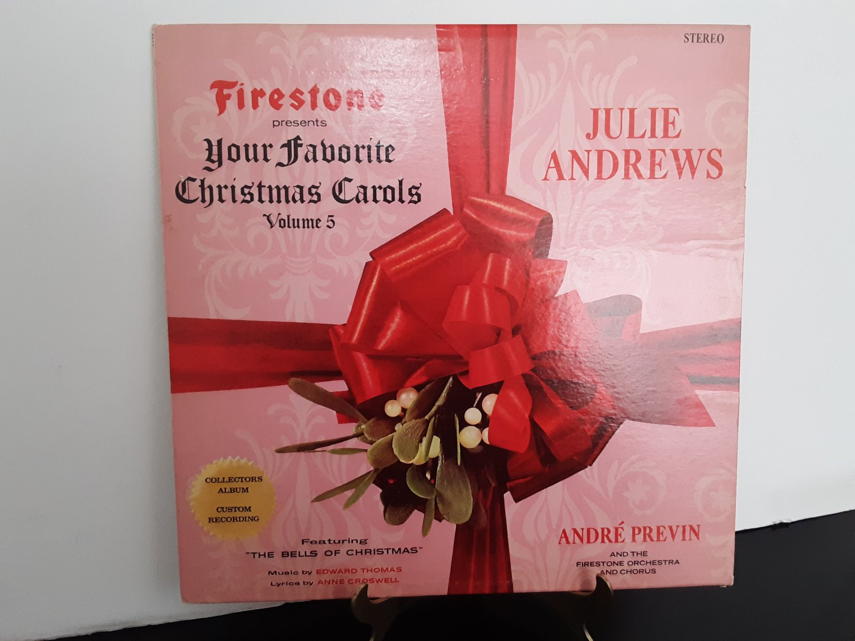 Julie Andrews - Firestone Presents - Your Favorite Christmas Carols Volume 5 - Circa 1965