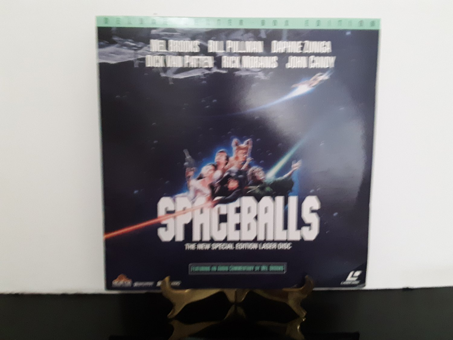 Ultra Rare Laserdisc  - Spaceballs - Widescreen Special Edition - With Audo Commentary by Mel Brooks