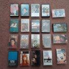 Lot of 20 Classic Country Cassettes - Patsy Cline - Loretta lynn - Merle Haggard - George Strait