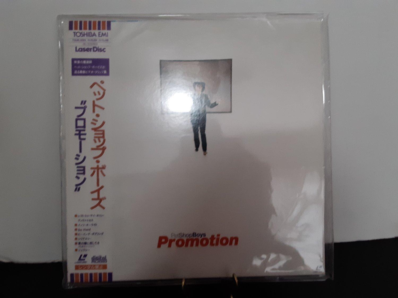 Pet Shop Boys - Promotion - Japan Pressing - Circa 1991 - LASERDISC