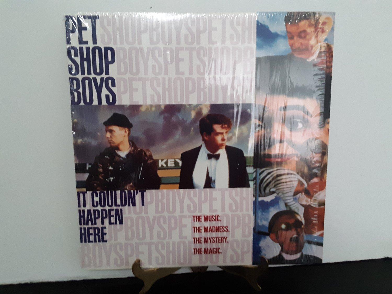 Pet Shop Boys - It Couldn't Happen Here - Circa 1992 - LASERDISC