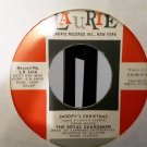 The Royal Guardsmen - Snoopy's Christmas / It Kinda Looks Like Christmas - 45rpm - Circa 1967