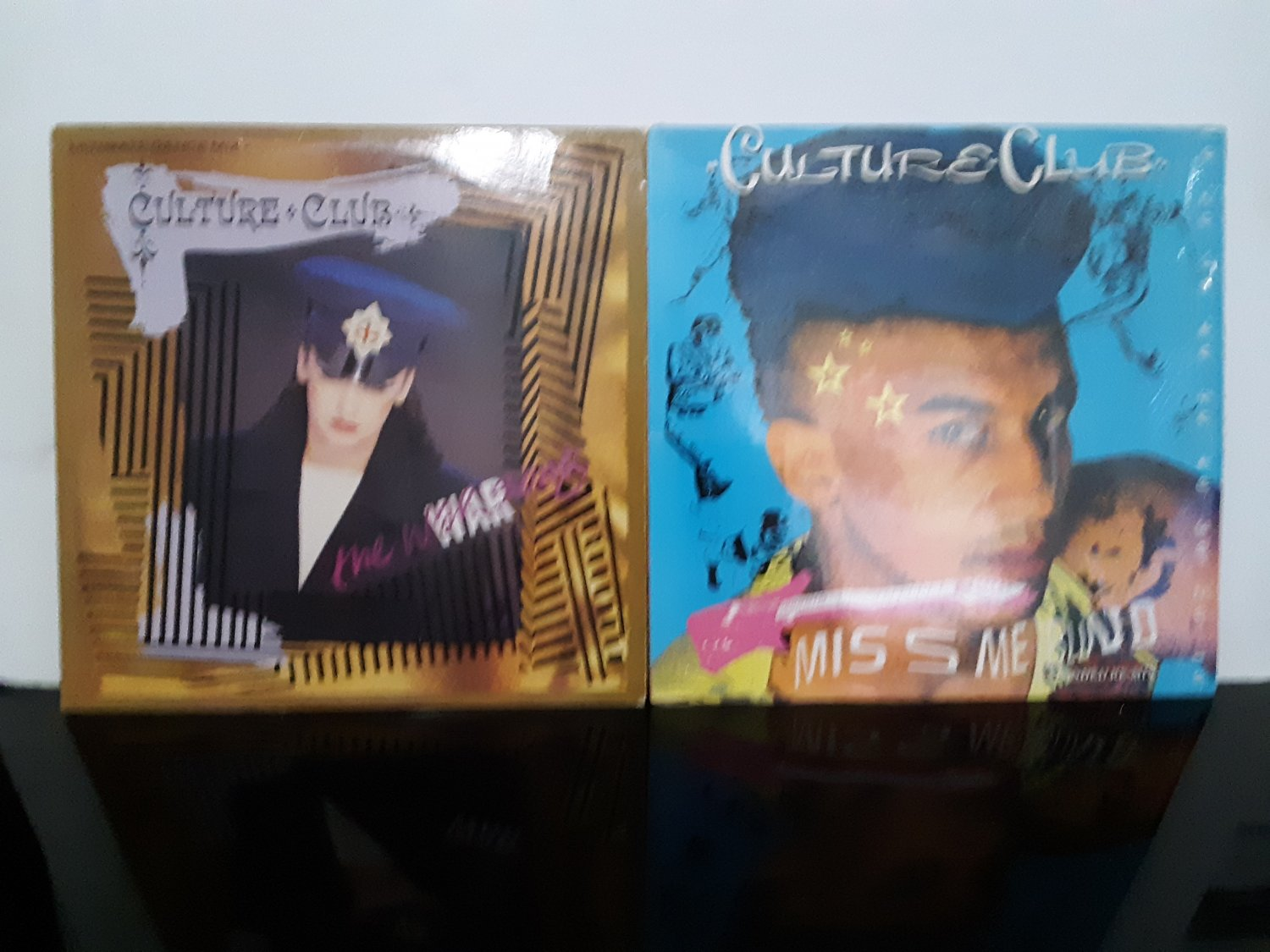 2 - Culture Club - Maxi Singles - The War Song / Miss Me Blind