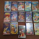 14 Black Diamond's VHS Tapes Plus a Christmas Bonus!