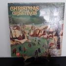 Johnny Cash, Barbra Streisand - Christmas Greetings - Circa 1971