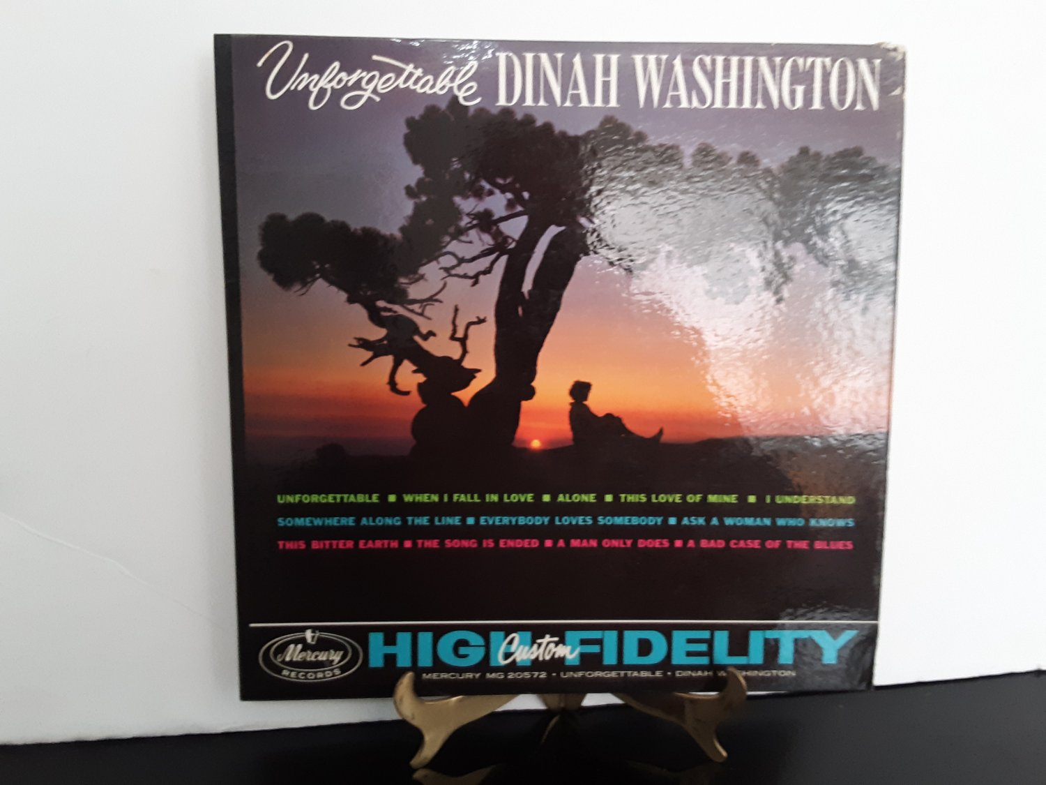 Dinah Washington - Unforgettable - Circa 1961