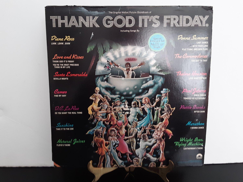 Various Artist Donna Summer, Diana Ross - Thank God It's Friday Soundtrack - Circa 1978