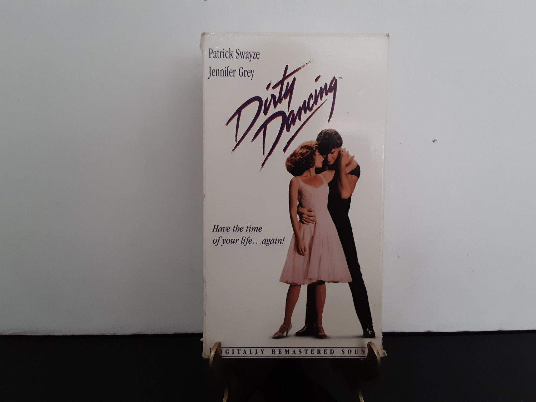 Dirty Dancing - Patrick Swayze - Jennifer Grey - Original Motion Picture  - VHS Tape