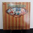 Walt Disney's - Pinocchio - Plus Full Color Illustraed Picture Book - Circa 1962