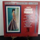 Connie Francis - Greatest American Waltzes - Circa 1963