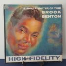 FREE SHIPPING - Brook Benton - It's Just A Matter Of Time - Circa 1959